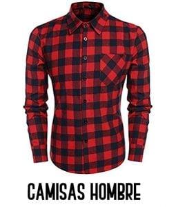camisas a cuadros hombre
