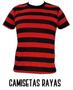 camisetas de rayas
