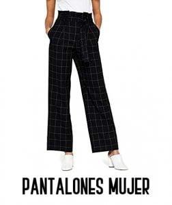pantalones de cuadros mujer