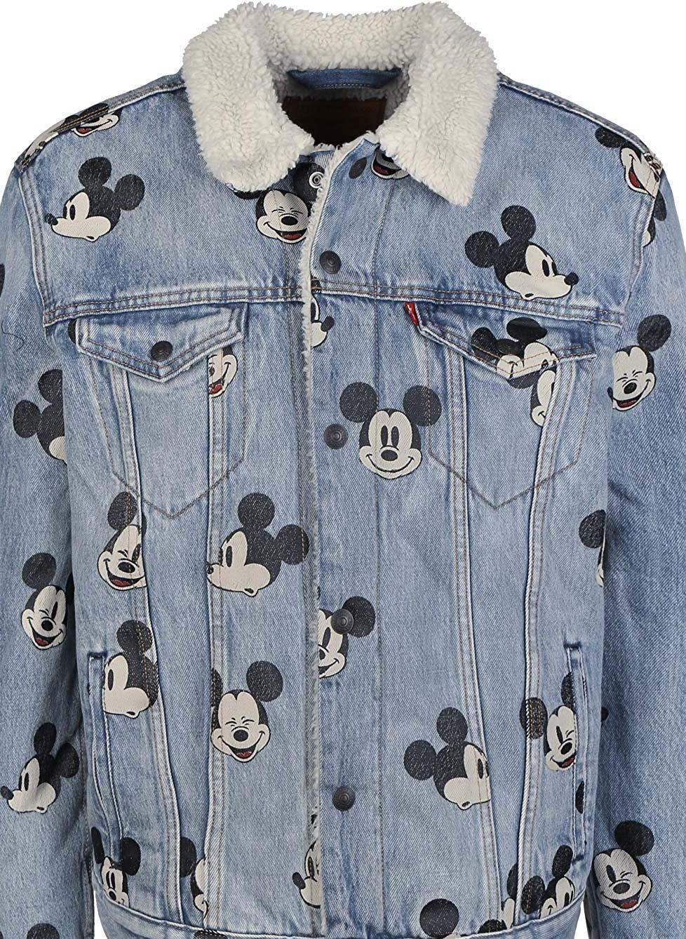 chaqueta mickey mouse levis