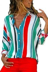 blusas de rayas