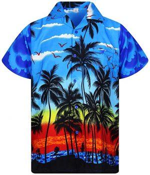 camisas hawaianas hombre