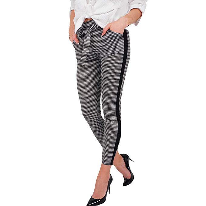 Pantalones De Cuadros Mujer Vestir En 2020 Rdc Com